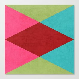 holiday triangles Canvas Print