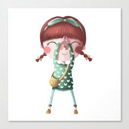 A de Tina Canvas Print