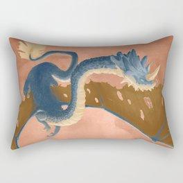 Beryl the Great Dragon Rectangular Pillow