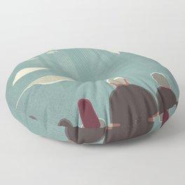 Day Trippers #9 - Aquarium Floor Pillow