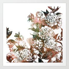 Plum Blossom Nebula Art Print