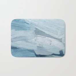 Bue Painting Bath Mat