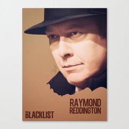Raymond Reddington Canvas Print