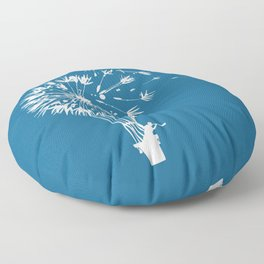 Going where the wind blows Floor Pillow