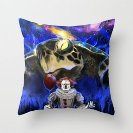 My Brother My Enemy Throw Pillow