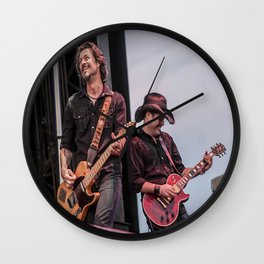 Roger Clyne and the Peacemakers shower curtain Wall Clock