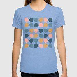 Geometric Pattern with Line Work T-shirt