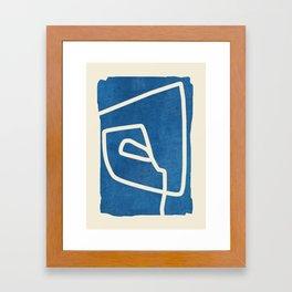abstract minimal 57 Framed Art Print
