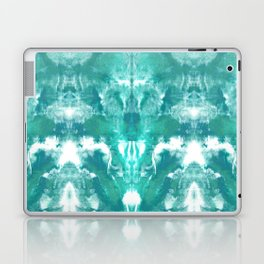 Aqua Blue Lagoon Laptop & iPad Skin