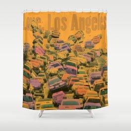 Love, Los Angeles Shower Curtain