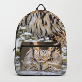 Western Siberian Owl Backpack