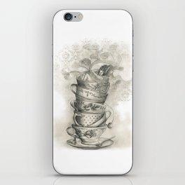 Tea bath iPhone Skin