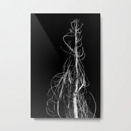 Twisted Bare Tree Metal Print