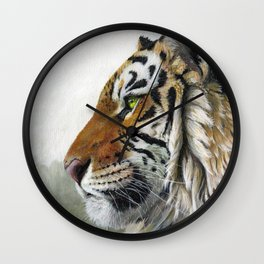 Tiger profile AQ1 Wall Clock