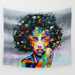 EXOTIC GIRL Wall Tapestry