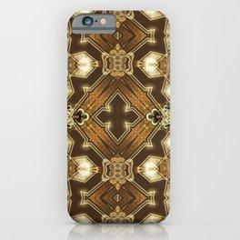 Golden Mali | Fractal Ruffles iPhone Case