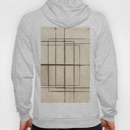 Toner Lines on Paper Hoody