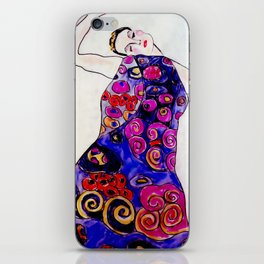 The Embrace Reimagined By James Thomas Ryan iPhone Skin