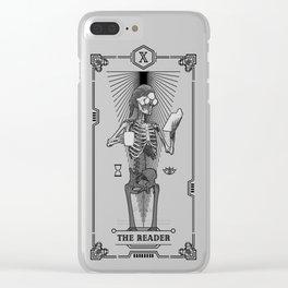 The Reader X Tarot Card Clear iPhone Case