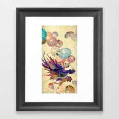 Chinese Lunar New Year and 12 animals  ❤  The DRAGON 龍 Framed Art Print