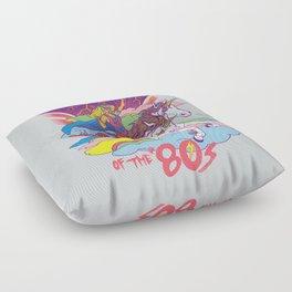 Warrior of the '80s Floor Pillow