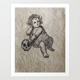 The Cherub Art Print