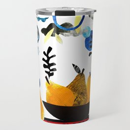 'still-life with pears ...' Travel Mug