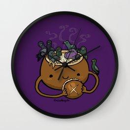 Food Series - Chowder Bread Bowl Wall Clock
