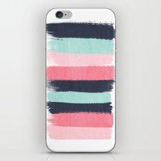 Cecily - abstract paint brush strokes paintbrush brushstrokes boho chic trendy modern minimal  iPhone & iPod Skin