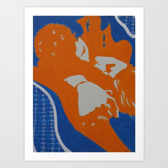 InterLock Art Print