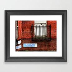 Exchange St. & Cork Hill Framed Art Print