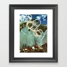 discovered Framed Art Print