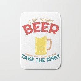 Beer beer tent beer lover gift Bath Mat