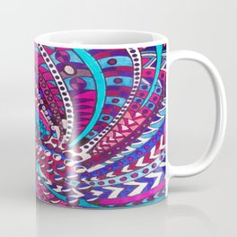 What Do You Think Of Blues, Purples and Pinks ? Coffee Mug