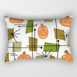 Halloween Mid Century Modern Rectangular Pillow