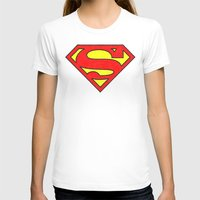superman T-shirts featuring Superman by Alisa Galitsyna