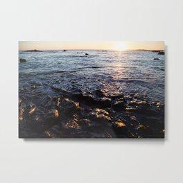 Rocky Water Metal Print