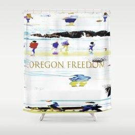 Oregon Freedom Shower Curtain