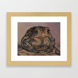 Toadie Framed Art Print