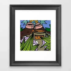 STEP BACK! THIS is OUR ELECTROMAGNETIC RECHARGING STATION! Framed Art Print
