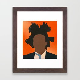 The Artist (Basquiat) Framed Art Print