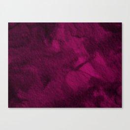 Deep liquid purple wool Canvas Print