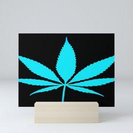 Weed : High Time Blue Mini Art Print