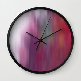 Frost in Spring Wall Clock