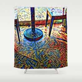 MEETup Shower Curtain