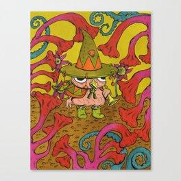 Bird-Trumpeter Canvas Print