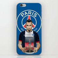 zlatan iPhone & iPod Skins featuring Football Stars: Zlatan Ibrahimovic by Akyanyme
