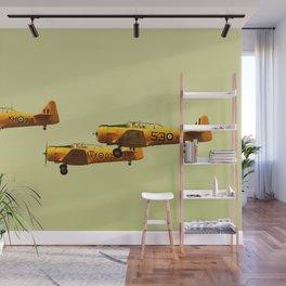 Harvard Airplanes Wall Mural