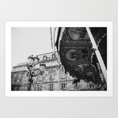 I'll Meet You in Paris Art Print