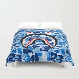 Bape Shark blue Duvet Cover